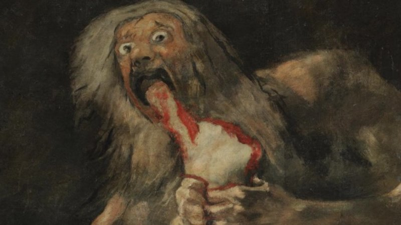 Saturn Devouring His Son | Know Your Meme