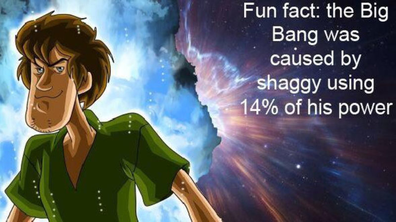 Shaggy's Power | Know Your Meme