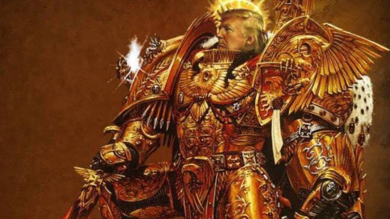 Image result for trump warhammer