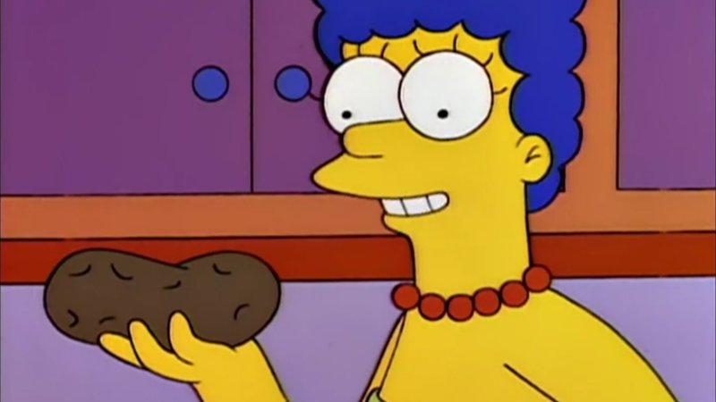 Marge Simpson's Neat Potato