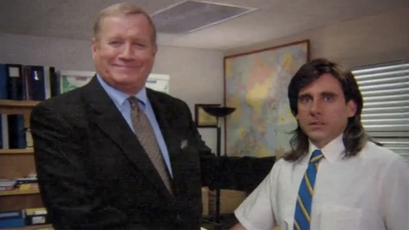 michael scott this is a white