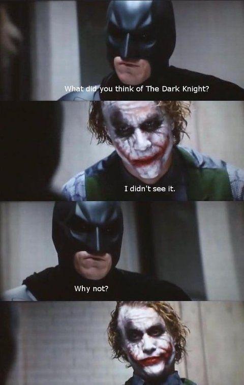 dark knight 4 pane know your meme