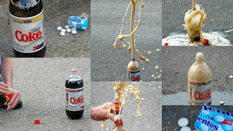 can any diet soda work with mentos