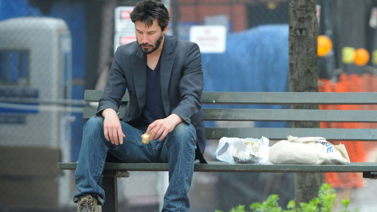 Image result for Sad Keanu