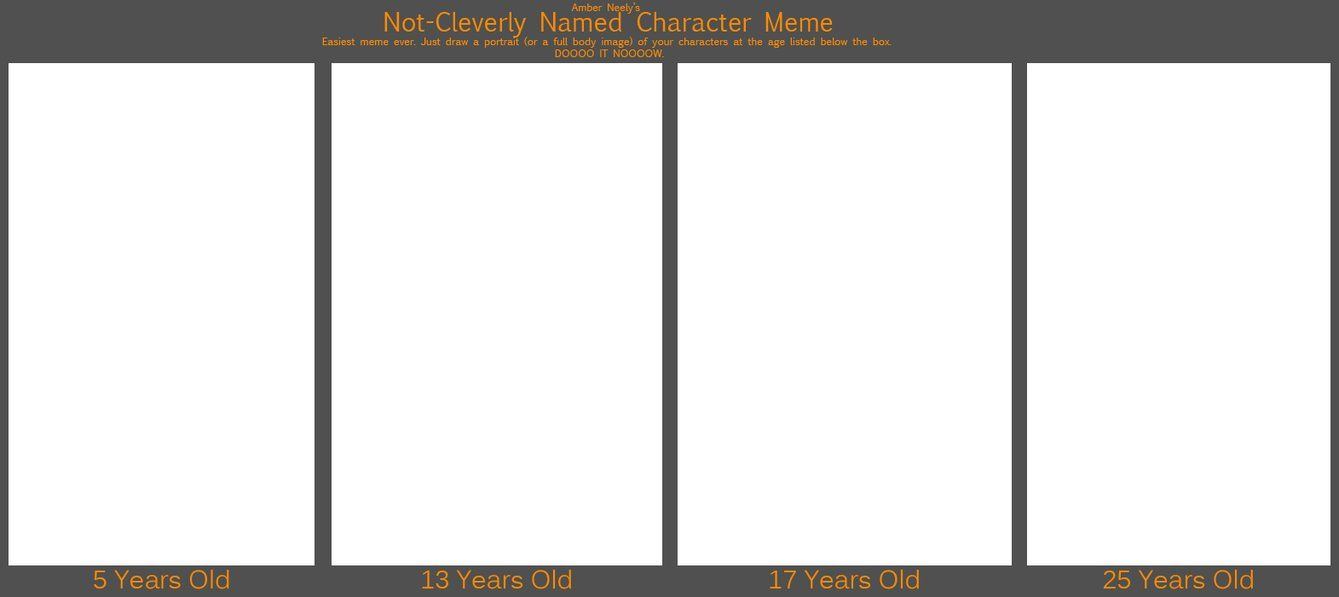 Character Age Meme Know Your Meme