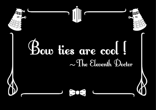 bow ties are cool know your meme