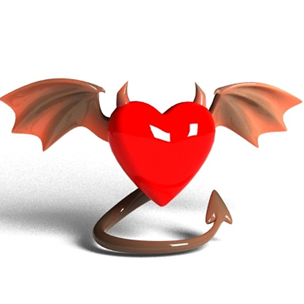 Evil heart | Know Your Meme
