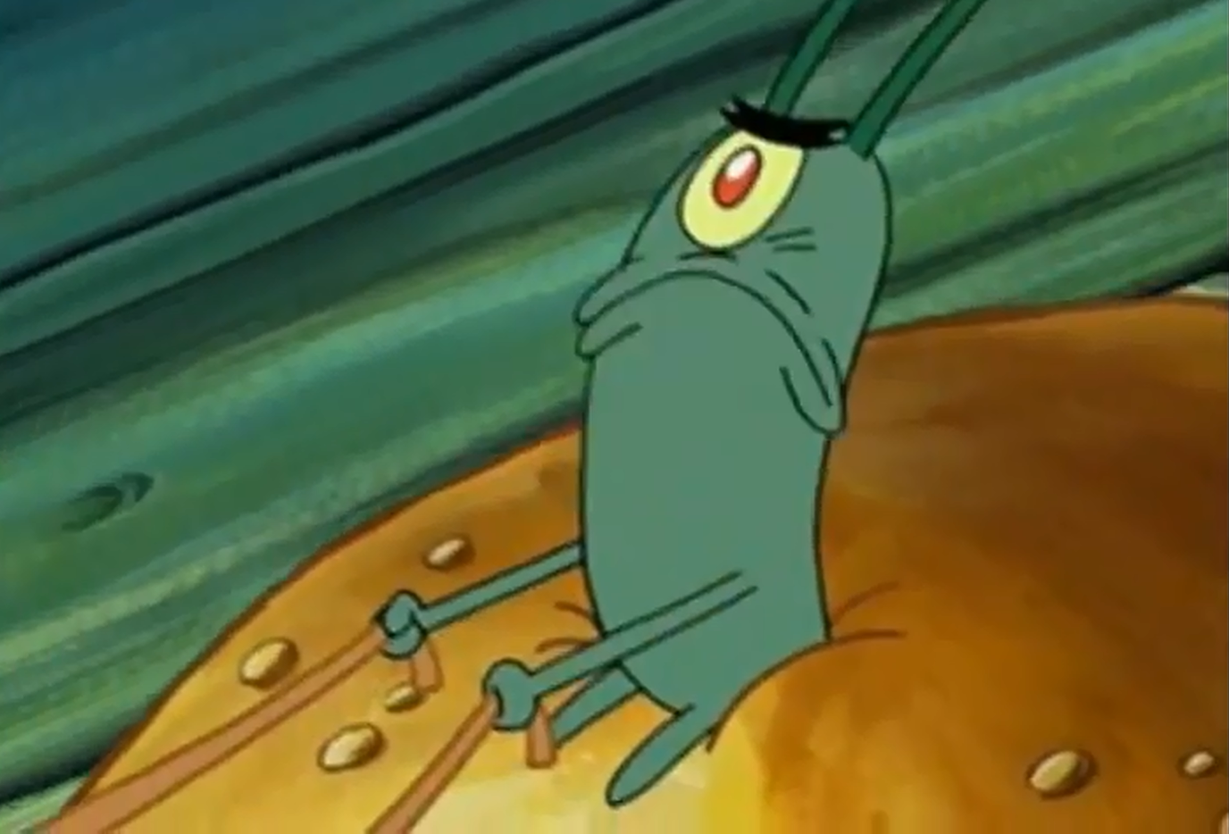 Plankton not when i shift into maximum overdrive