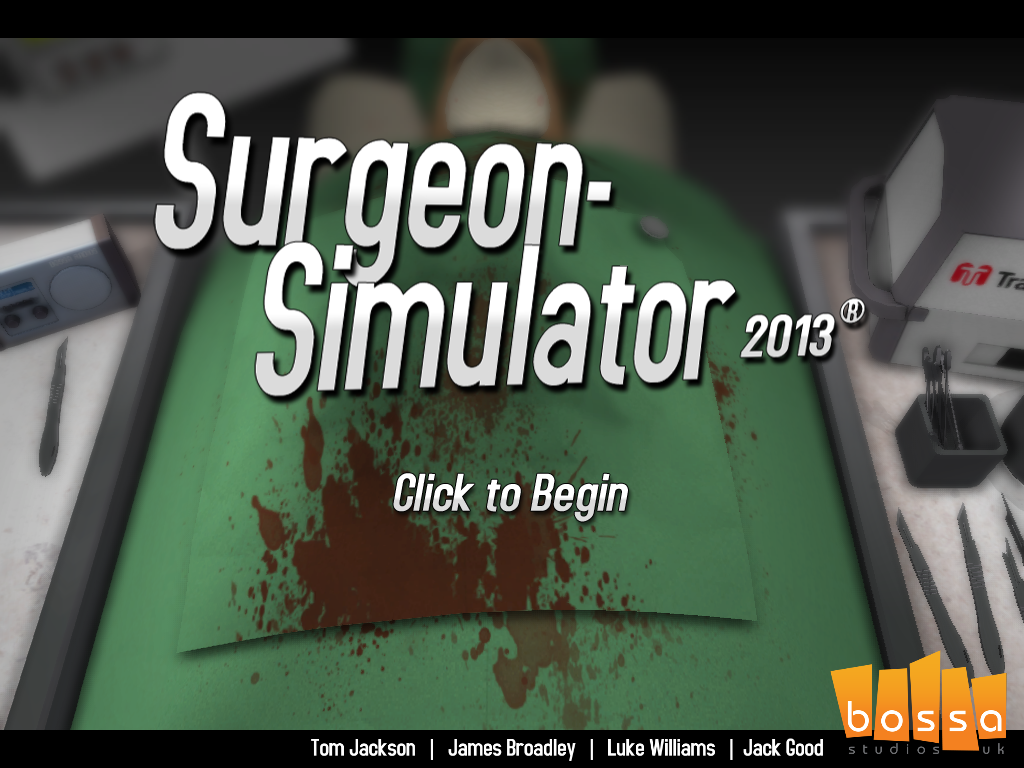 Surgeon Simulator 2013 Know Your Meme