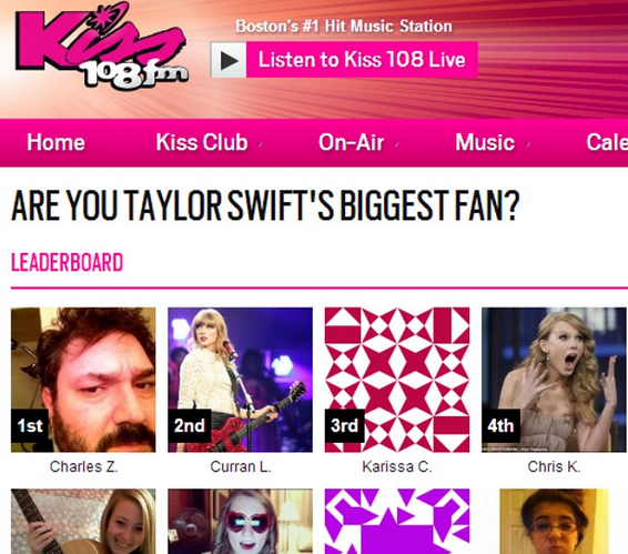 Taylor Swift's Biggest Fan Contest | Know Your Meme
