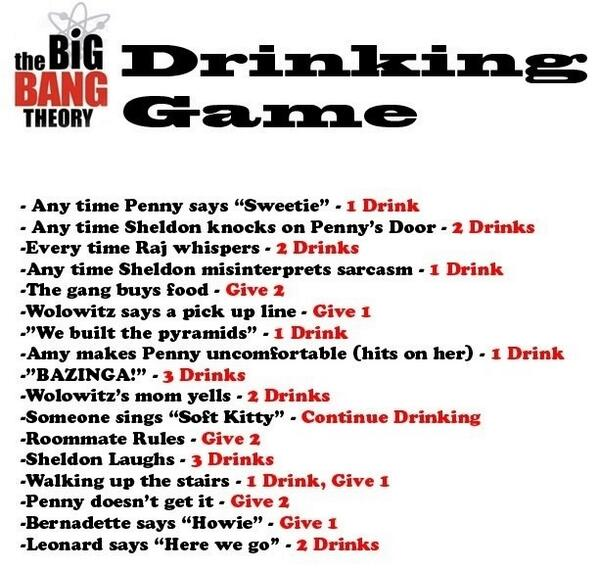 tv drinking games know your meme
