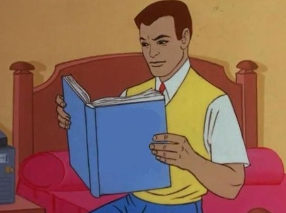 Peter Parker Reading A Book Know Your Meme
