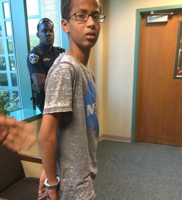 ahmed ahmed mohamed's arrest know your meme