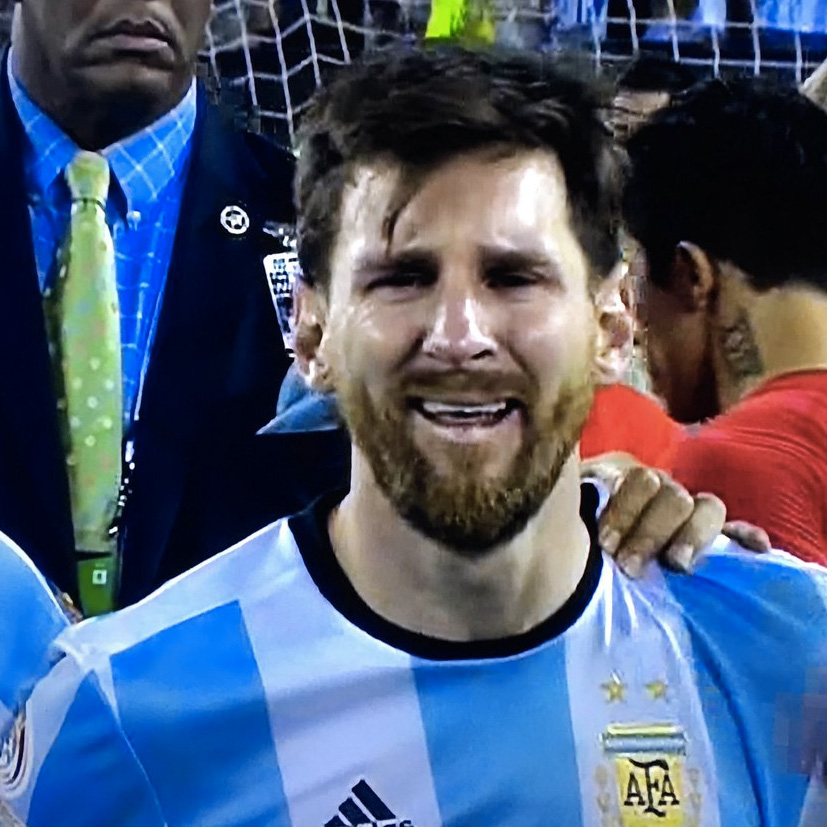 Crying Messi Know Your Meme
