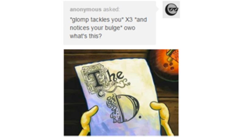 Notices bulge