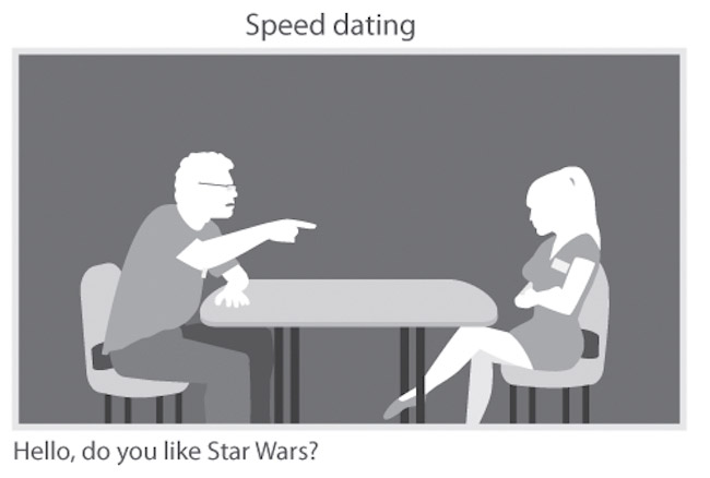 Geek speed dating