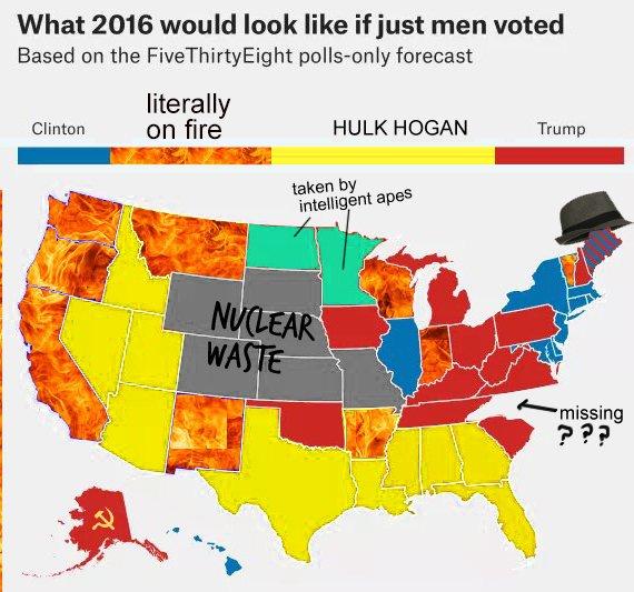 Electoral College Map Parodies | Know Your Meme