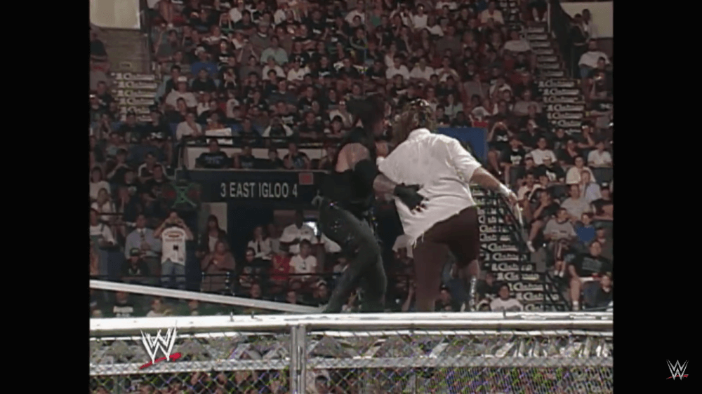The Undertaker Threw Mankind Off Hell in a Cell | Know Your Meme