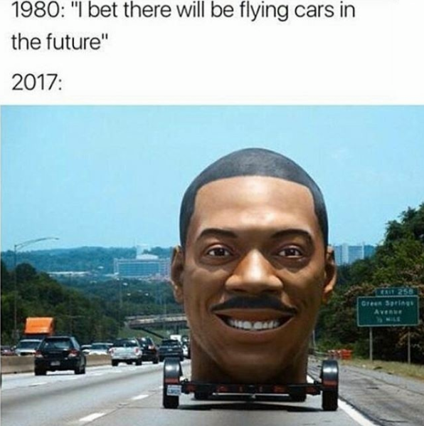 I Bet There Will Be Flying Cars In The Future