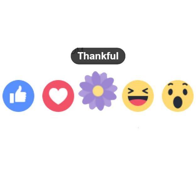 Flower Emoji Facebook Reaction - Flowers Healthy