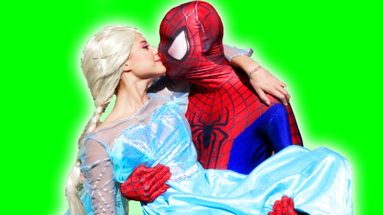 Image result for elsa spiderman