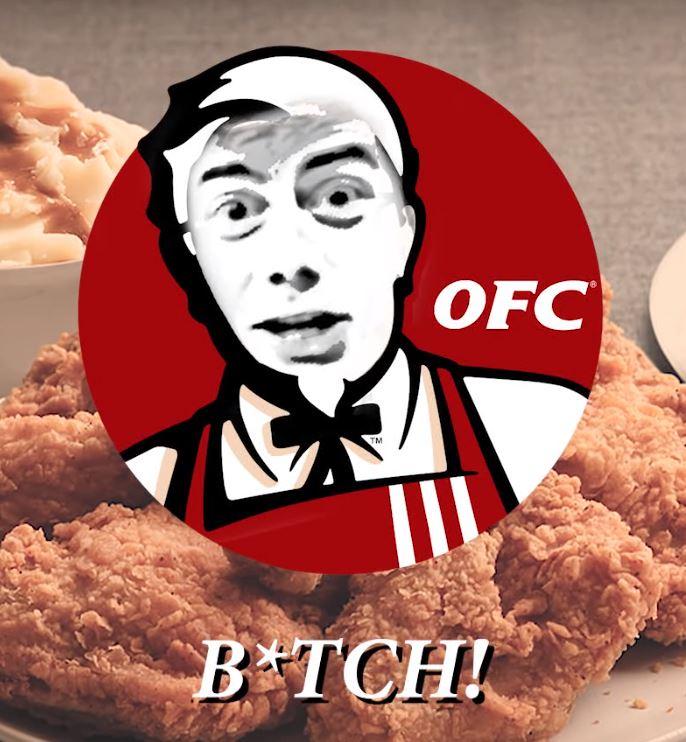 ohio fried chicken b tch know your meme