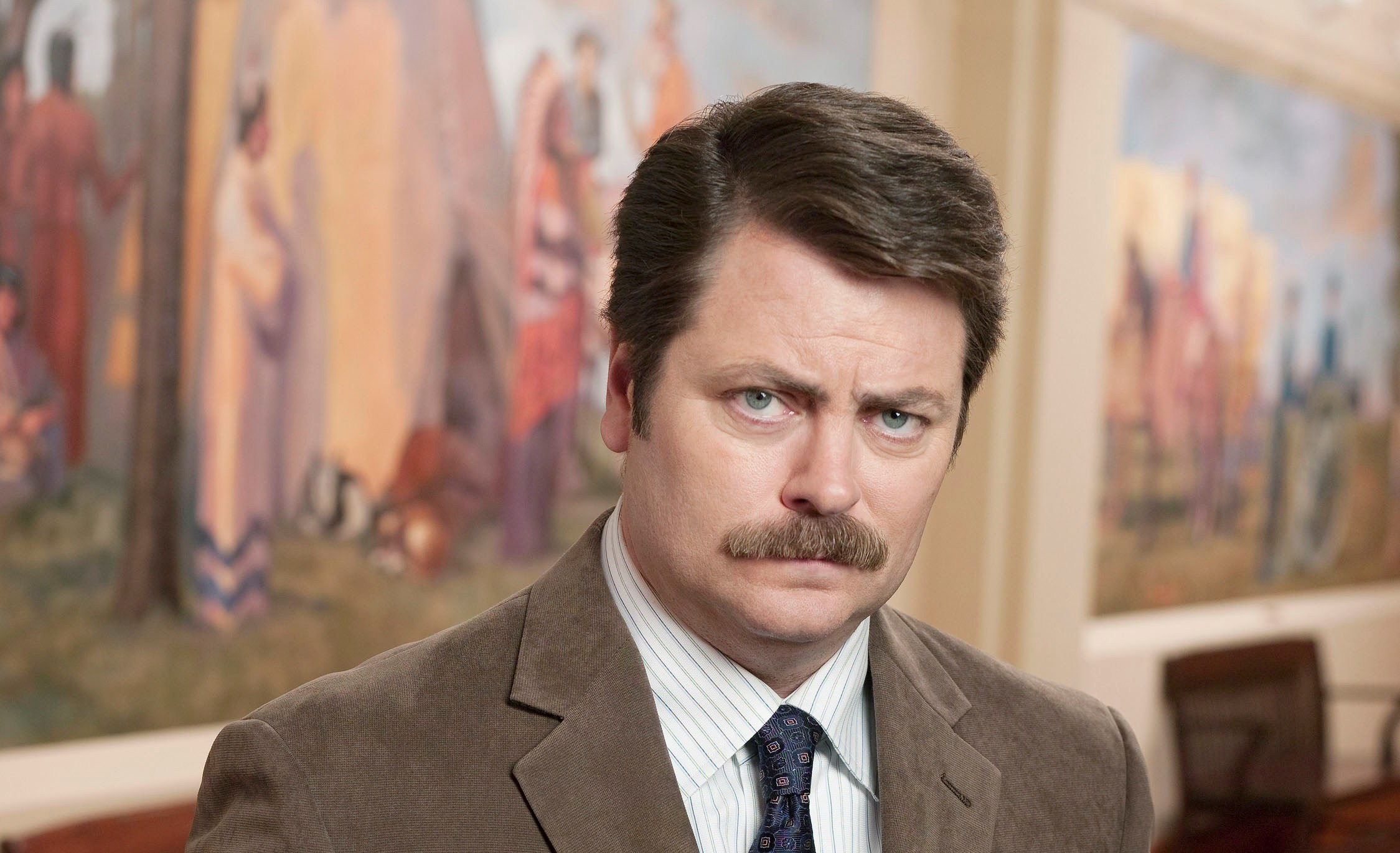 Image of: Gif Ron Swanson Know Your Meme Ron Swanson Know Your Meme