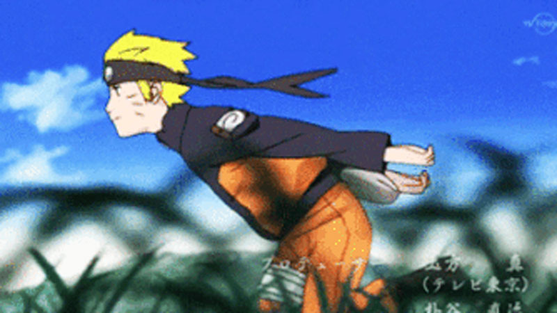 Image result for naruto run