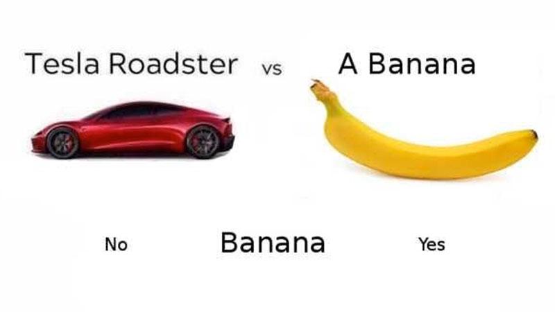 Tesla car meme