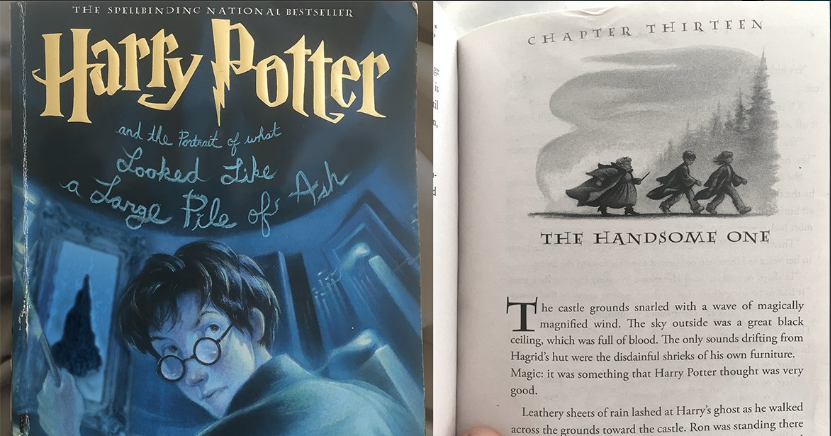 Harry Potter Predictive Text Chapter | Know Your Meme