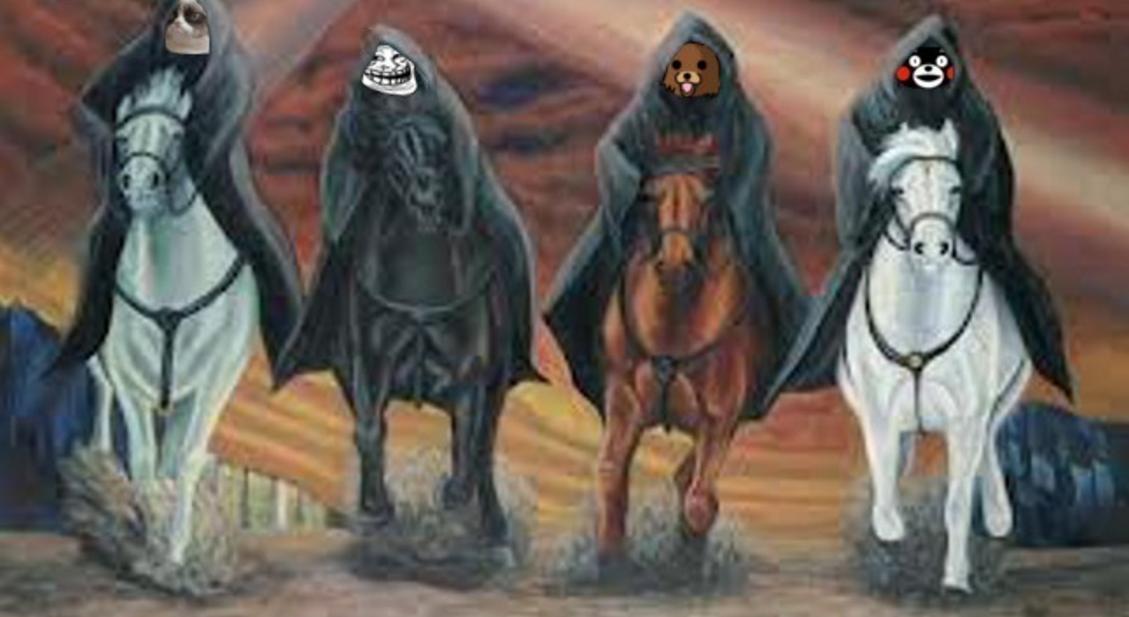 Four Horsemen Of The Apocalypse | Know Your Meme