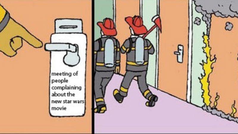 Old firefighter meme