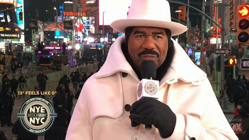 0825f38a4861 Steve Harvey's White New Year's Eve Outfit | Know Your Meme