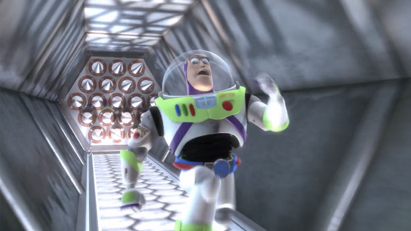 Buzz Lightyear Outruns Spikes | Know Your Meme