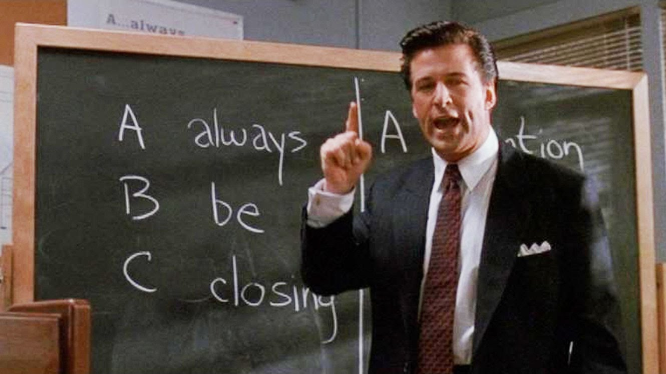 Image result for glengarry glen ross always be closing