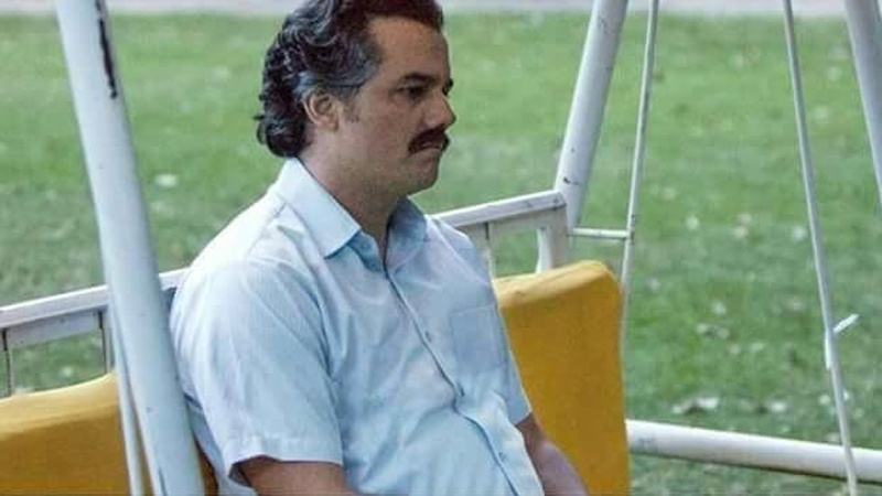 Pablo Escobar Waiting Know Your Meme
