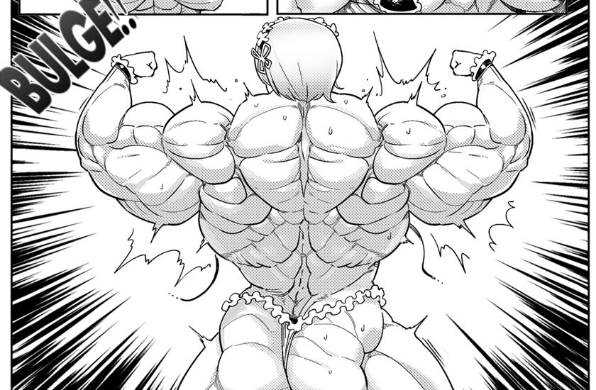 Muscle Growth Cartoon 46448