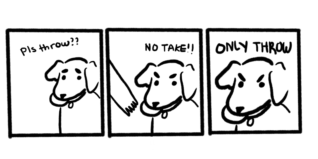 Image result for no take only throw