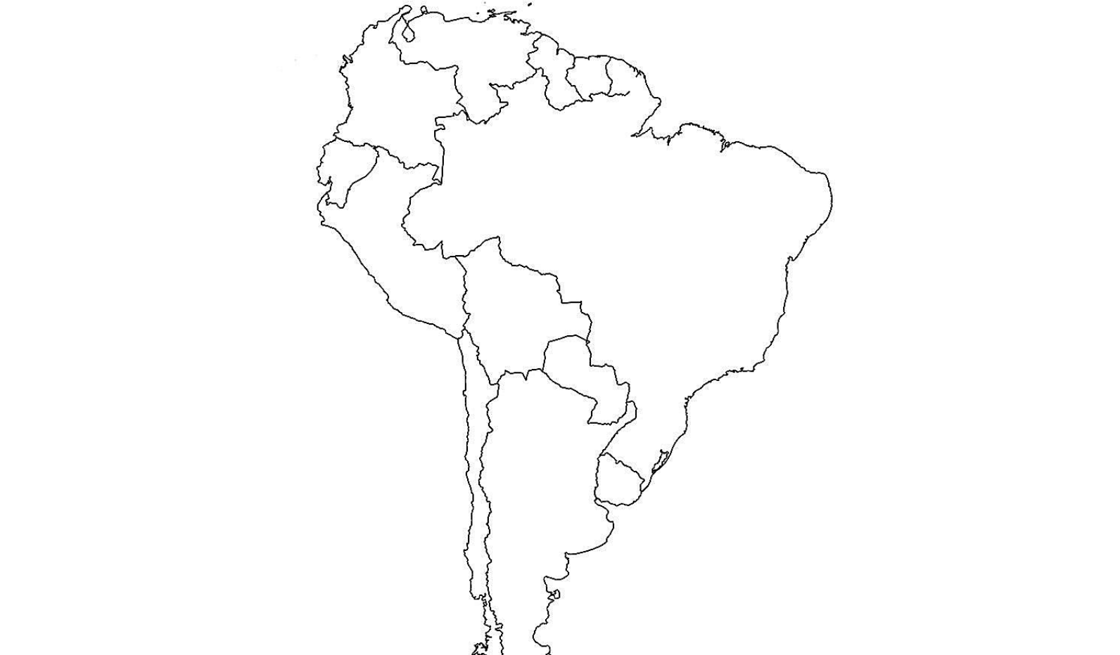 Map Of America Drawing.Map Of South America Know Your Meme