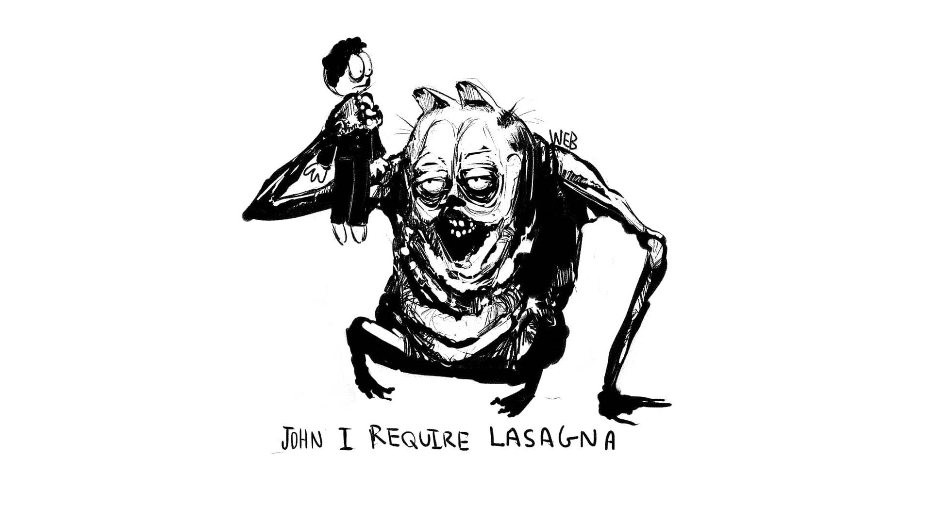 Creepy Garfield | Know Your Meme