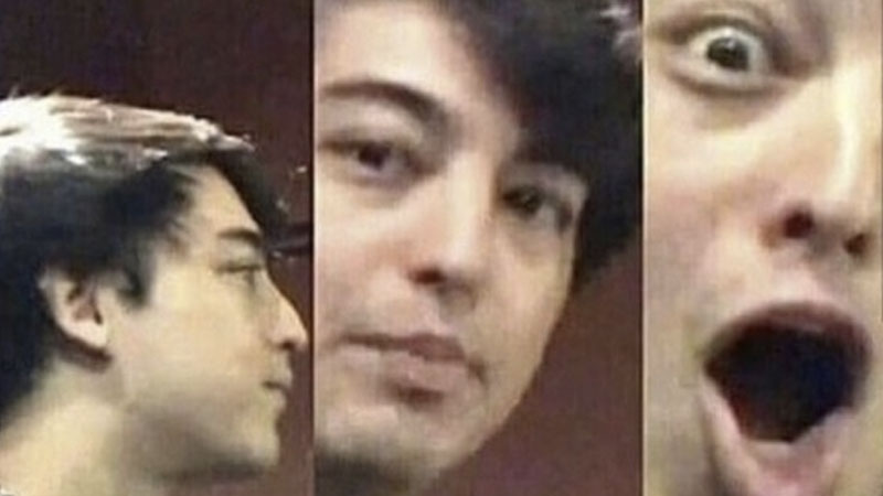 Image result for surprised joji meme