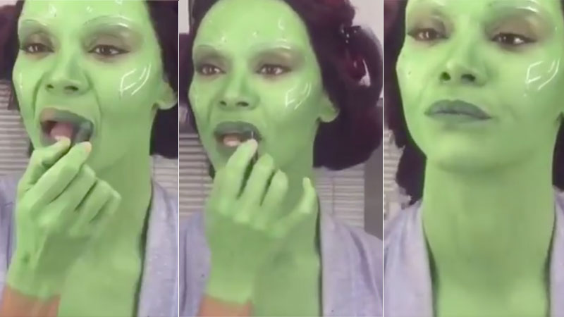 Gamora Putting on Makeup   Know Your Meme