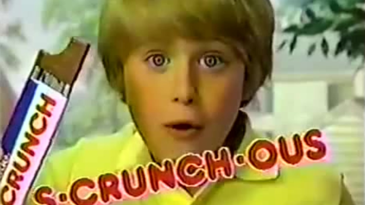 That's Why I Love Nestle Crunch | Know Your Meme
