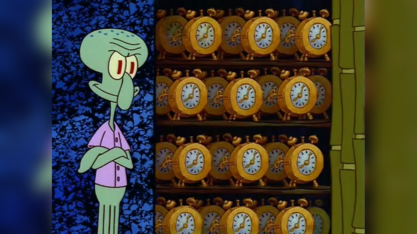 Spongebob Squidward Meme Flowers