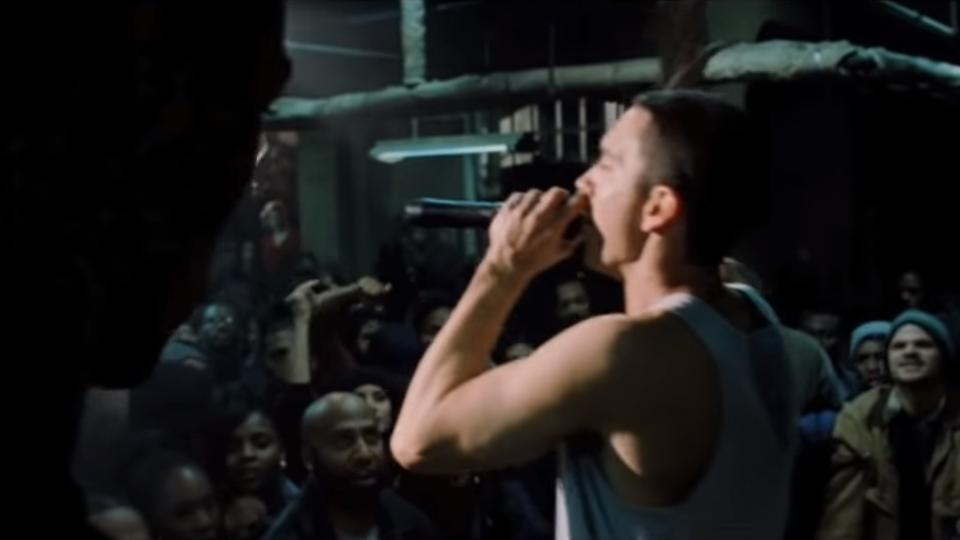 The 8 Mile Rap Battle