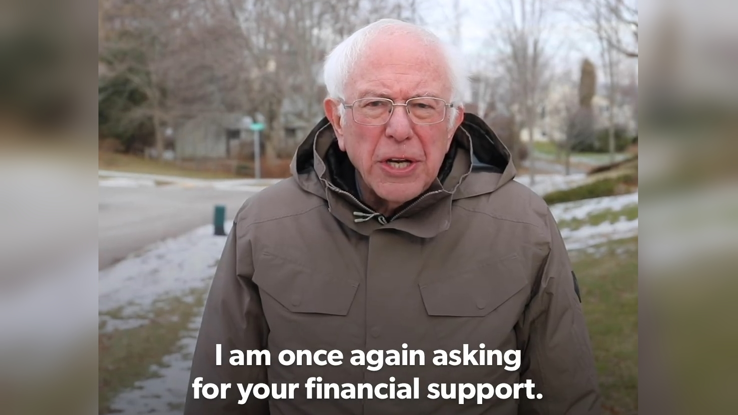 I Am Once Again Asking for Your Financial Support