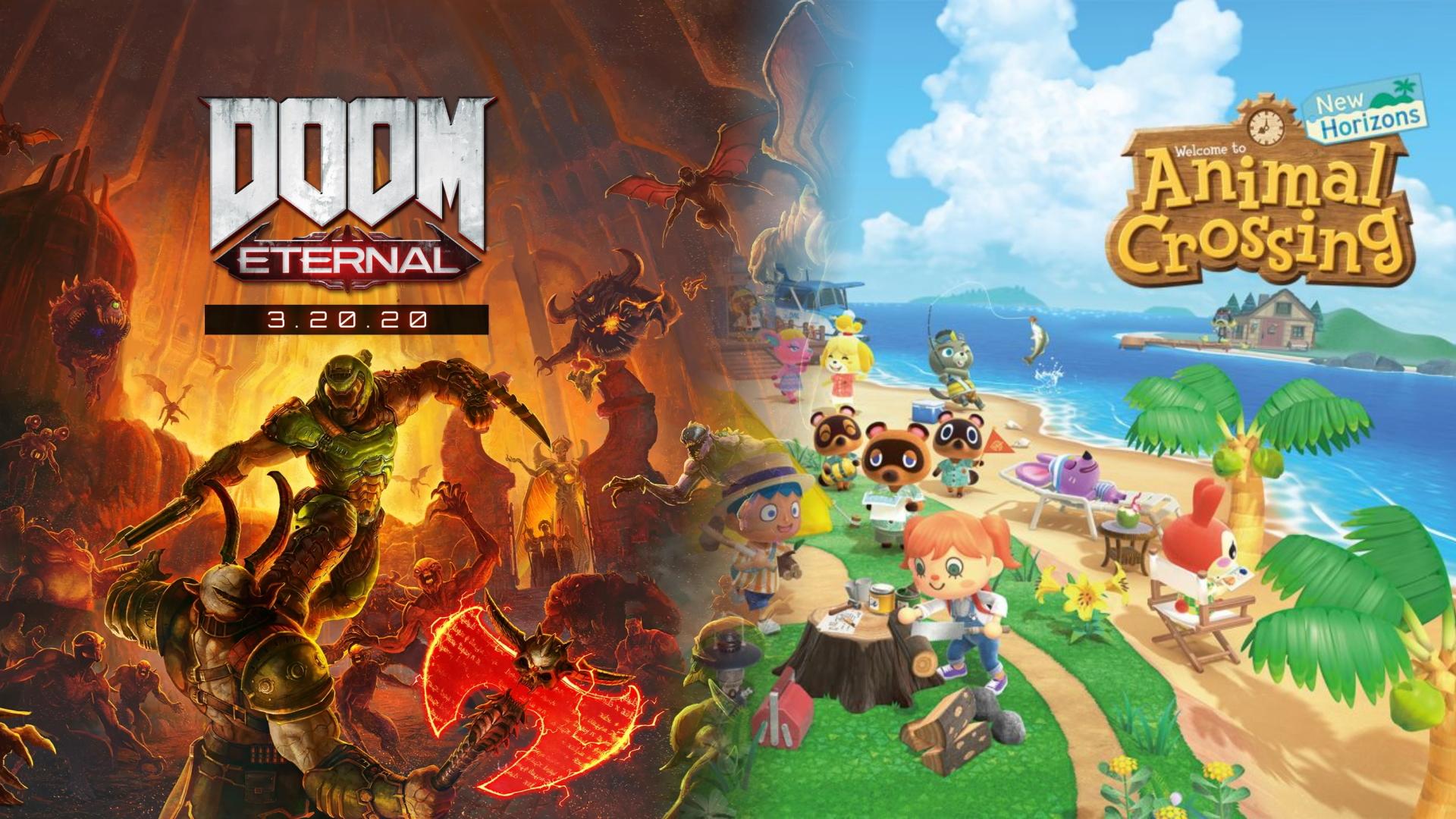 One Copy Of Doom Eternal Animal Crossing New Horizons Please