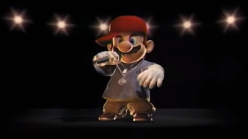Rapper Mario | Know Your Meme