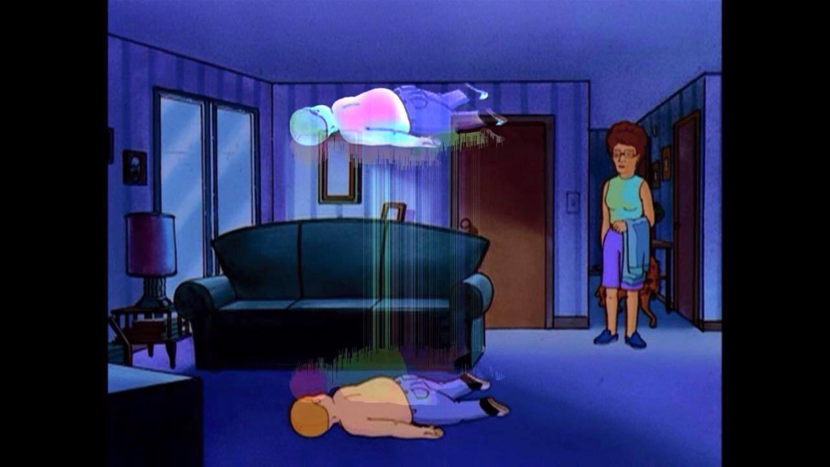 Bobby Hill Ascending / Out Of Body Experience | Know Your Meme