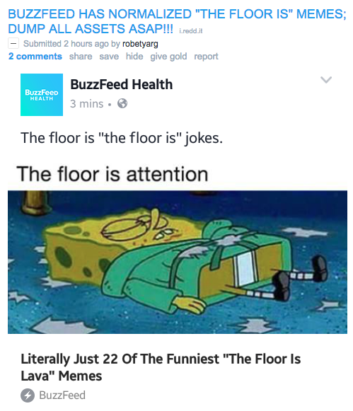 r/DankMemes and /r/MemeEconomy vs  BuzzFeed | Know Your Meme